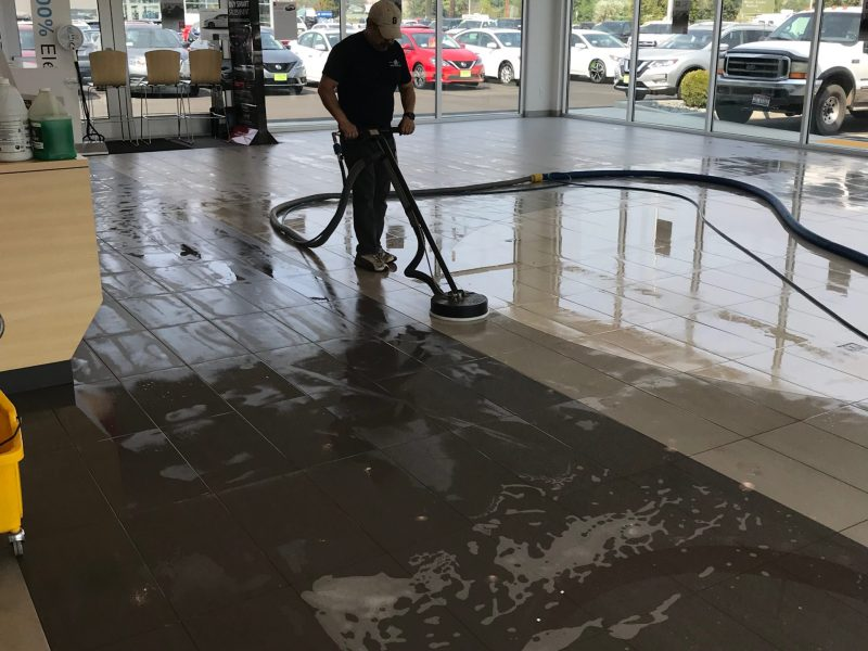 America Cleaning Solutions Inc Floor Cleaning Oregon